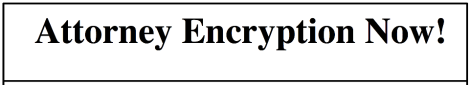 Att. encrypt now
