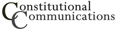 Logo for Constitutional Communications
